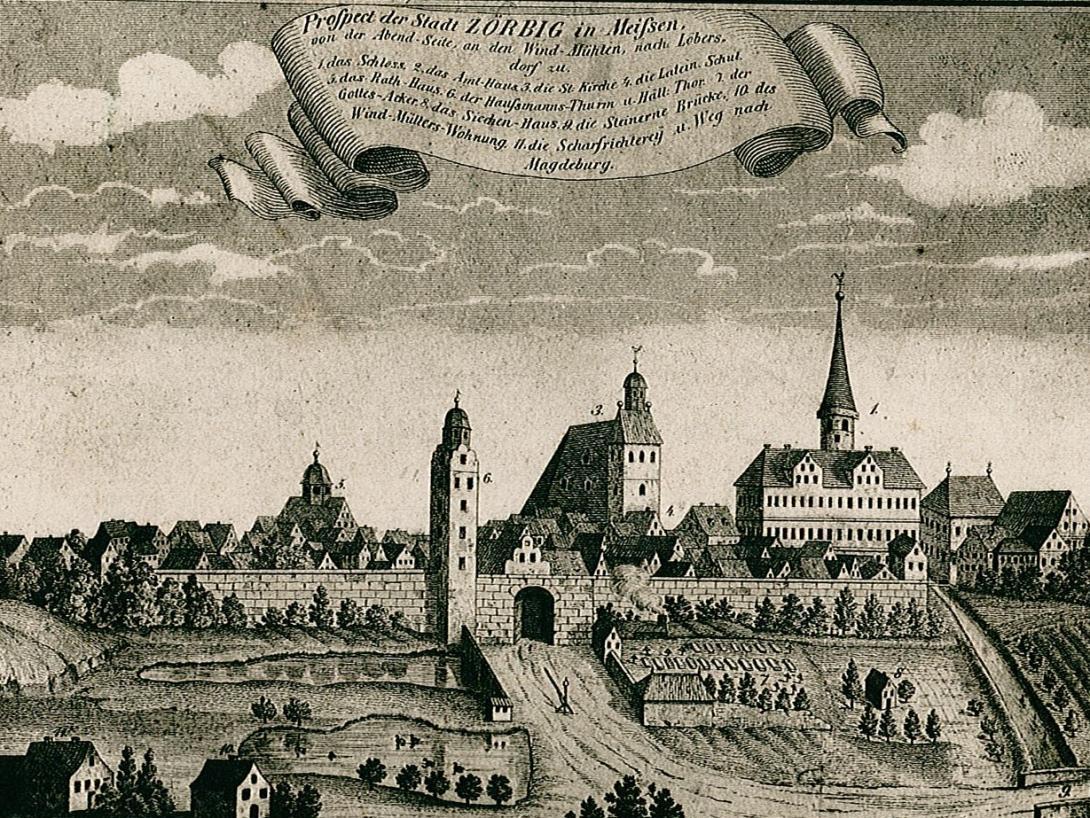 Stadtansicht um 1750