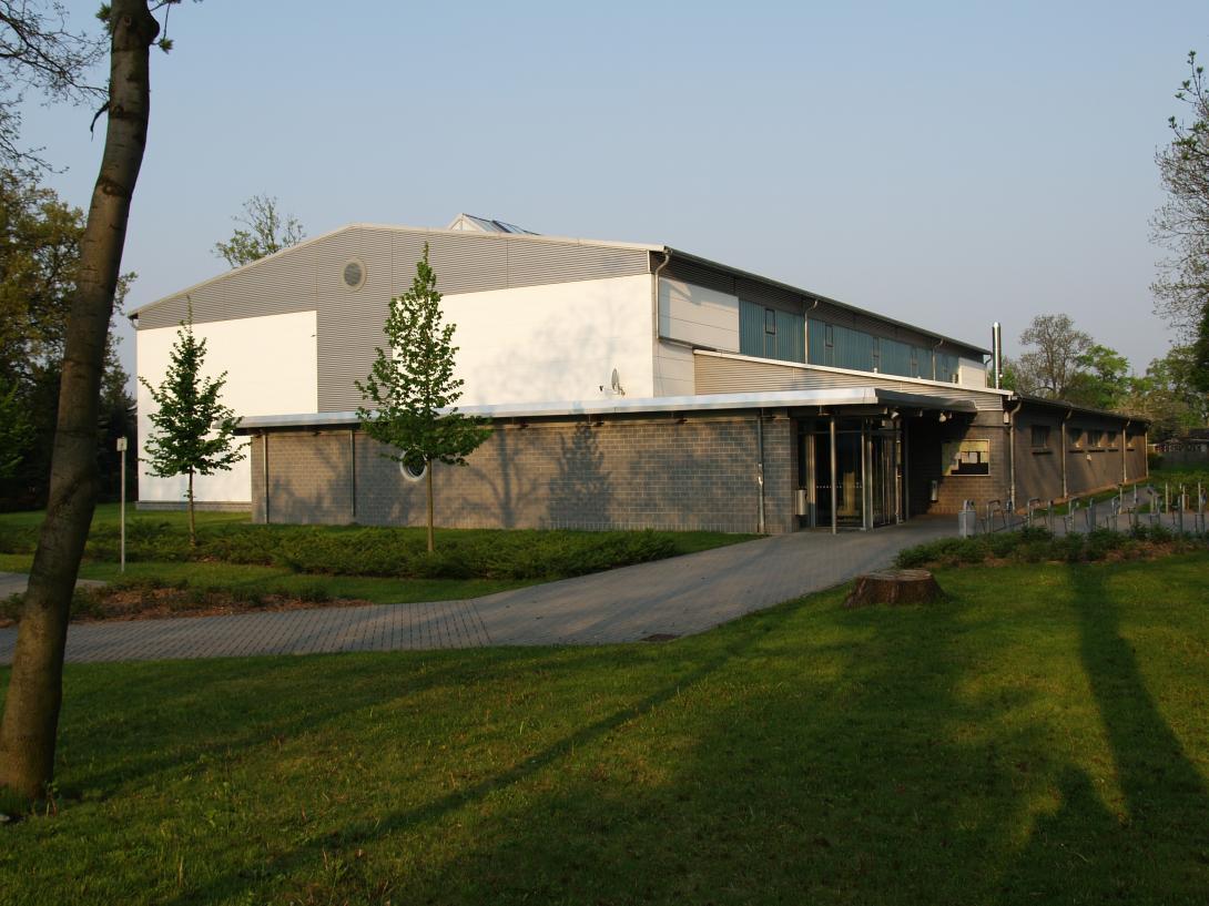 Sporthalle in Zörbig